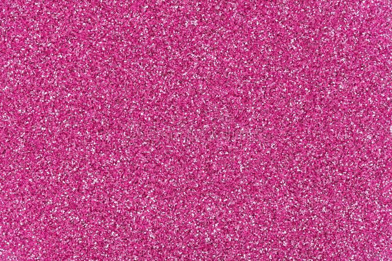 Perfect pink glitter background for your stylish design, texture for your holiday mood. royalty free stock image