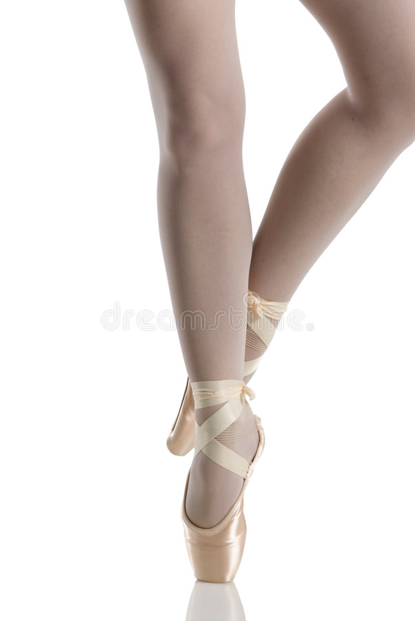 Perfect pointe stock image
