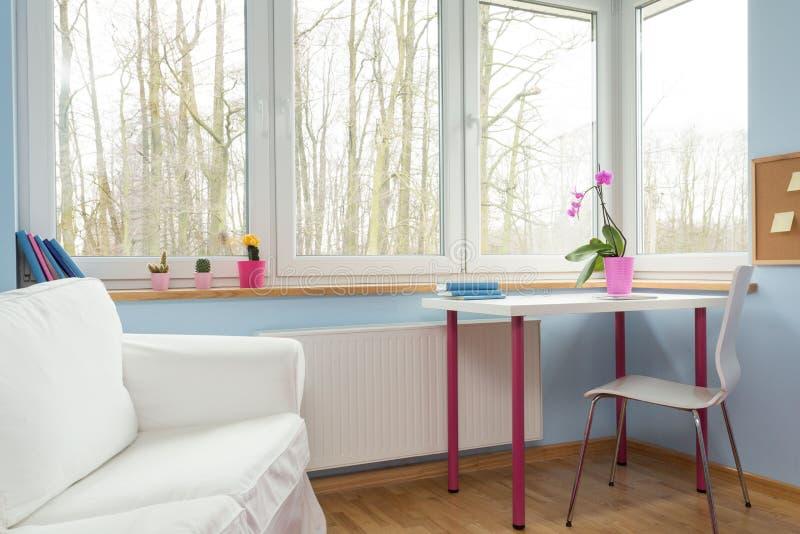 Perfect pokój dla dziewczyny fotografia royalty free
