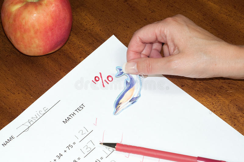 Perfect score stock images