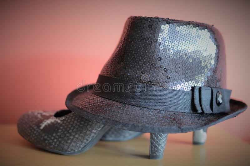 Perfect shoes needs every woman royalty free stock photography