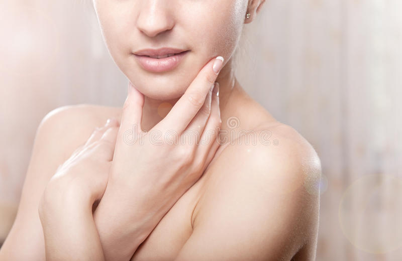 Perfect skin royalty free stock images