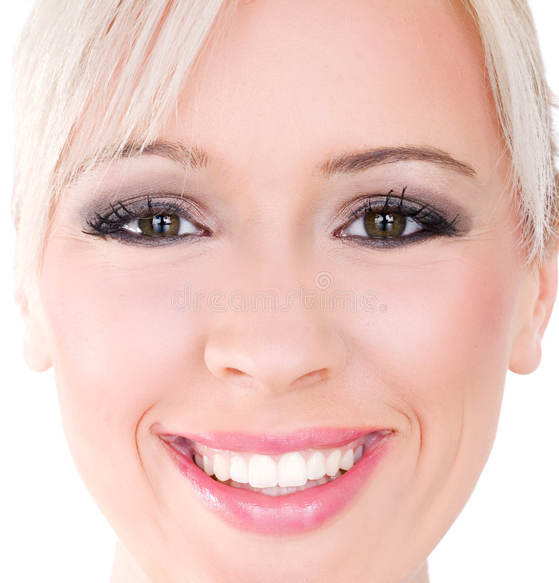 Perfect smile royalty free stock images