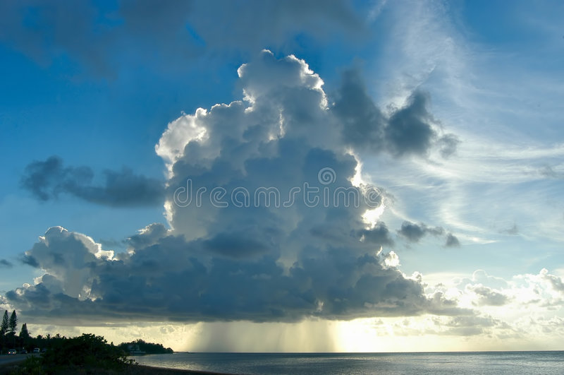perfect stormen arkivfoton
