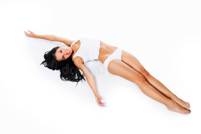 Download Perfect  Tanned Female Body Stock Image - Image: 13676871