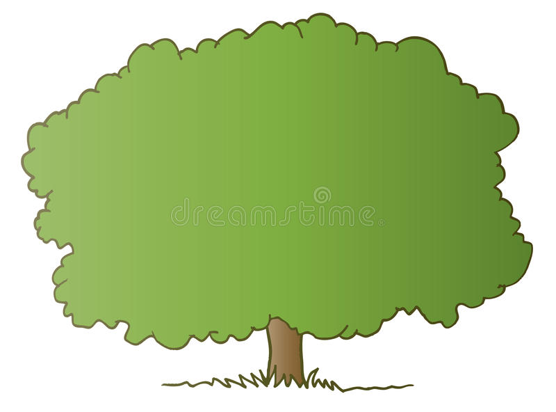 Download Perfect Tree stock illustration. Image of leaves, land - 10680145