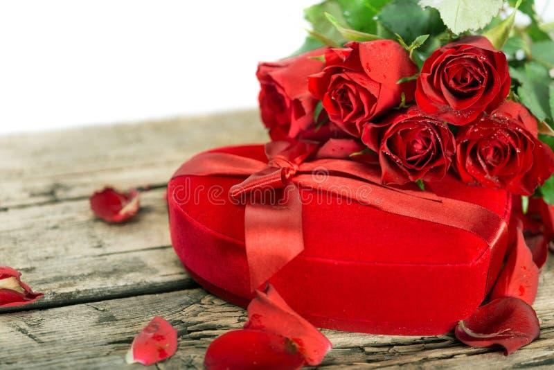 Perfect walentynek róże zdjęcie royalty free