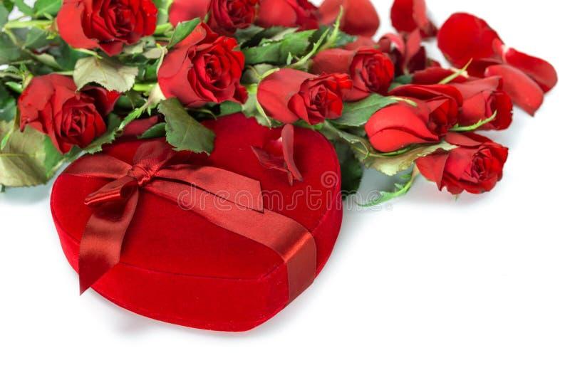Perfect walentynek róże obraz royalty free