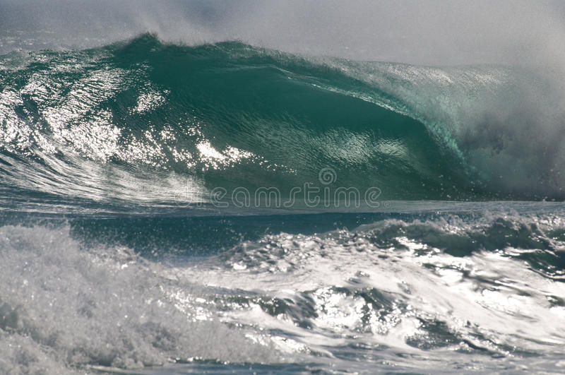 Download Perfect Wave offshore stock photo. Image of barrel, wave - 16664506