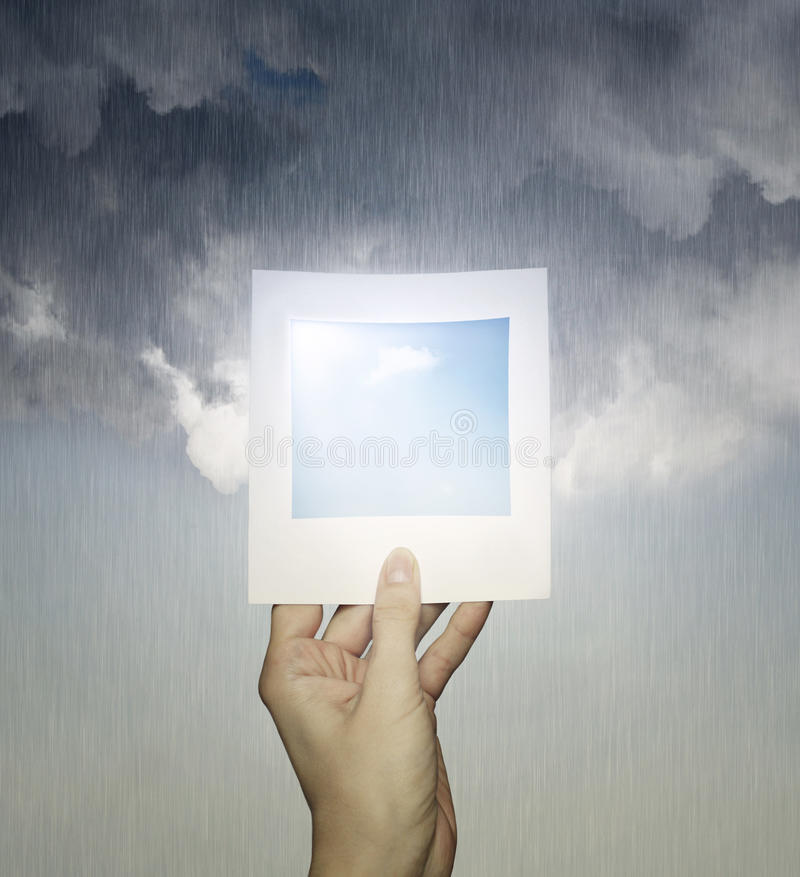 Perfect weather stock images