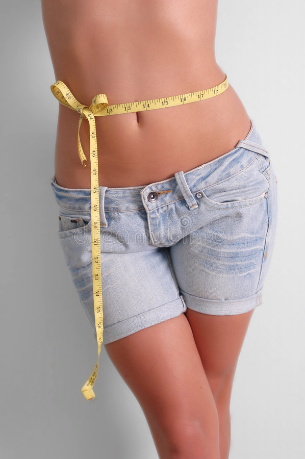 Perfect weight stock photo