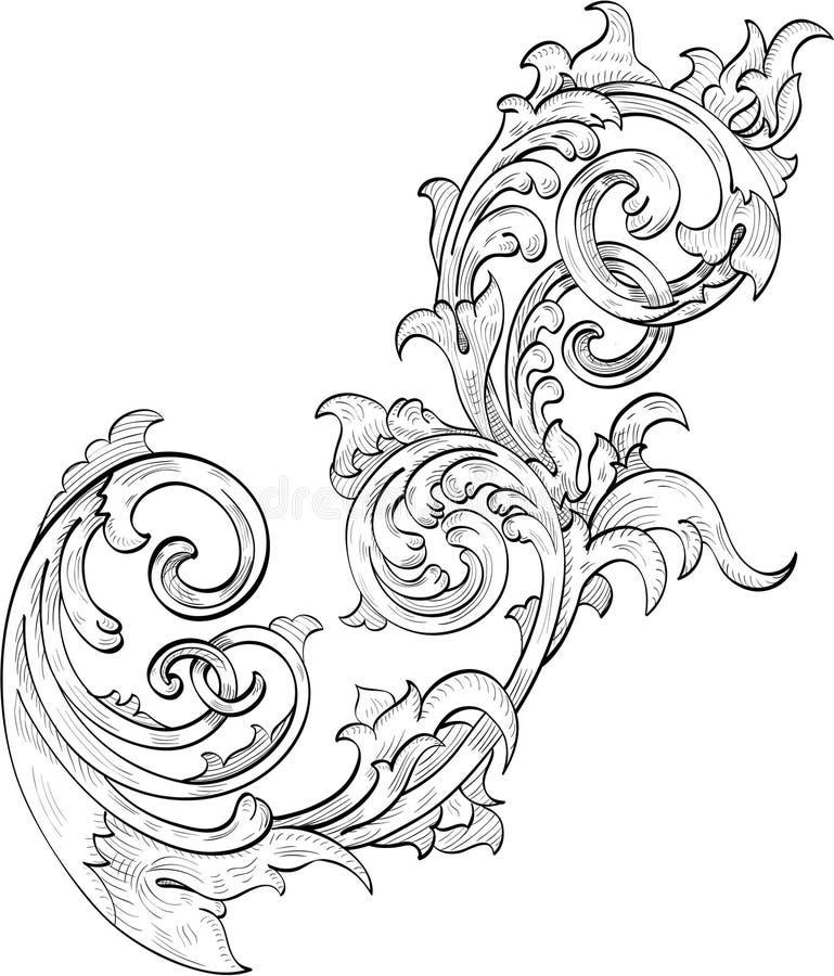 Perfecte bloem vector illustratie