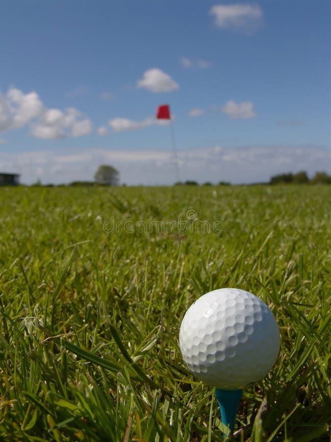 Perfecte Dag voor Golf royalty-vrije stock afbeelding