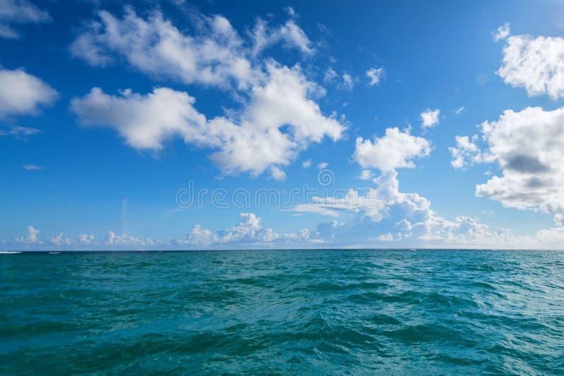 Perfecte hemel en oceaan stock fotografie