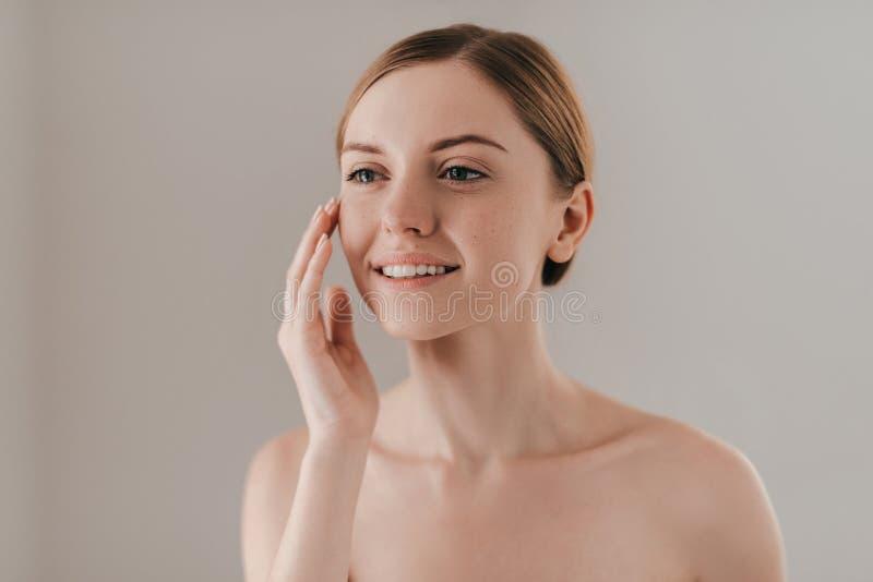 Perfecte huid stock fotografie