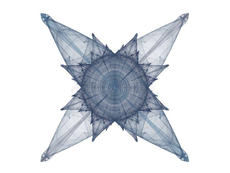 Perfecte Symmetrie royalty-vrije illustratie