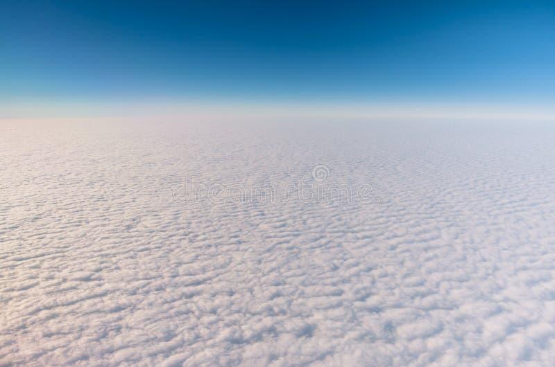 Perfecte wolken van de Hemel stock fotografie
