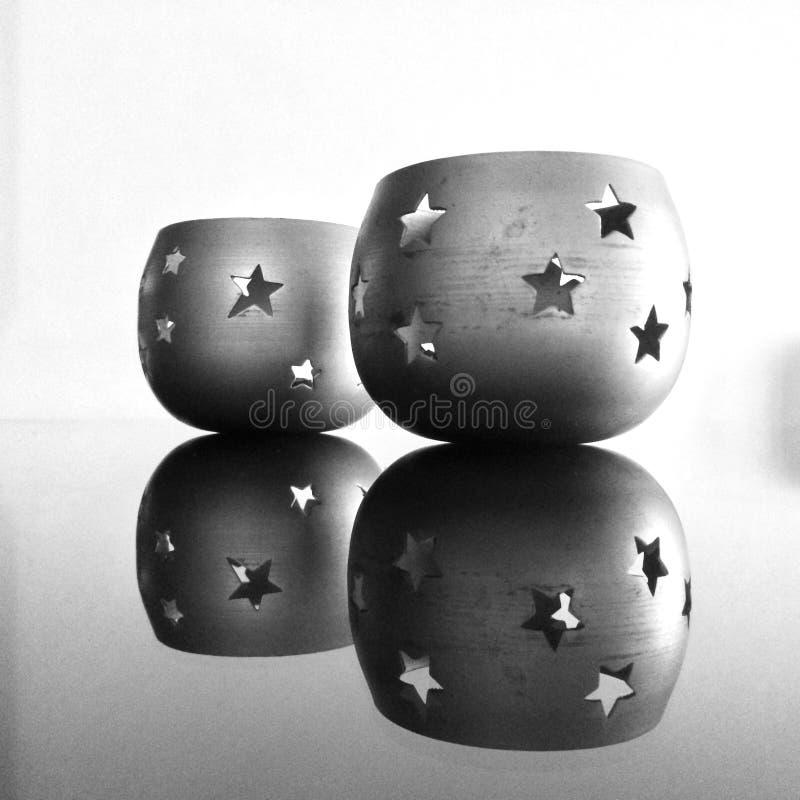 Perfection de réflexion dans le black&white photo libre de droits