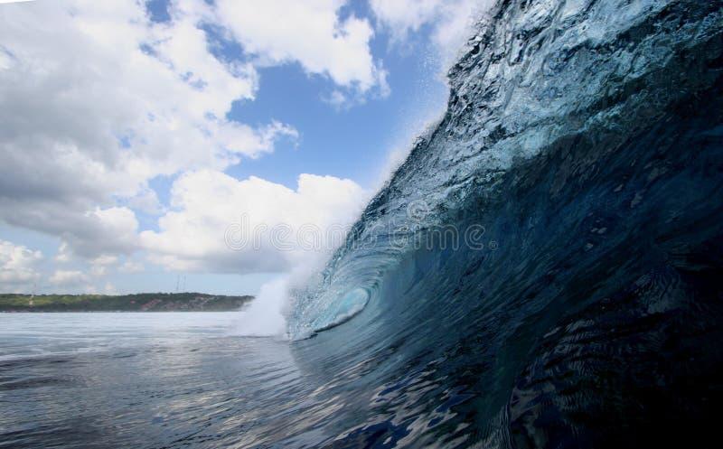 Perfeição da onda fotografia de stock