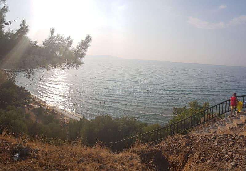 Perfekt hav arkivbild