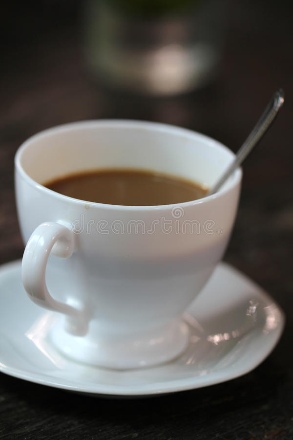 Perfekt kaffe royaltyfri bild