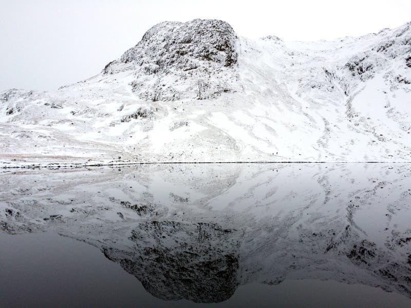 Perfekt reflexion av Harrison Stickle royaltyfria bilder