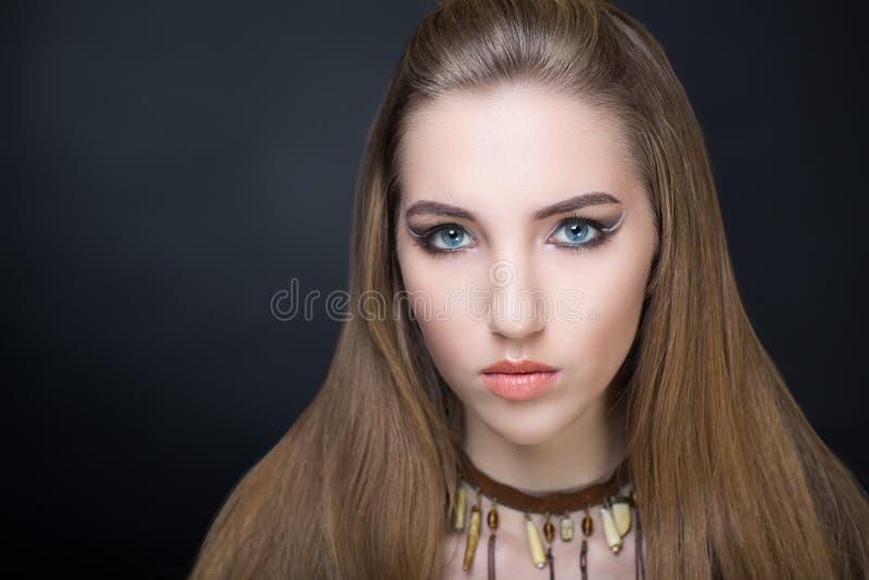 Perfekte Frau bilden stockfotografie