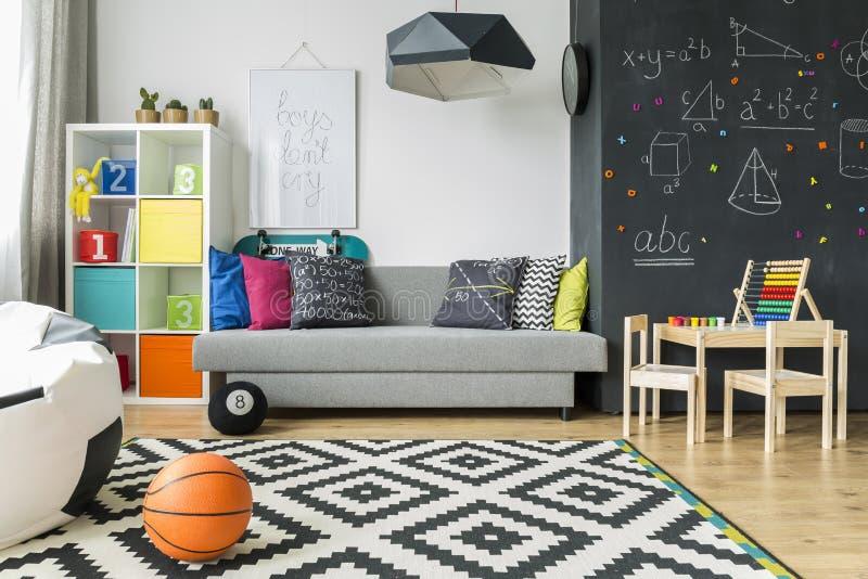 Perfekter Raum für einen Schüler lizenzfreies stockbild