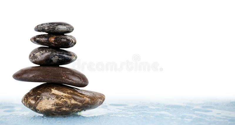 Perfezione dell'equilibrio fotografia stock