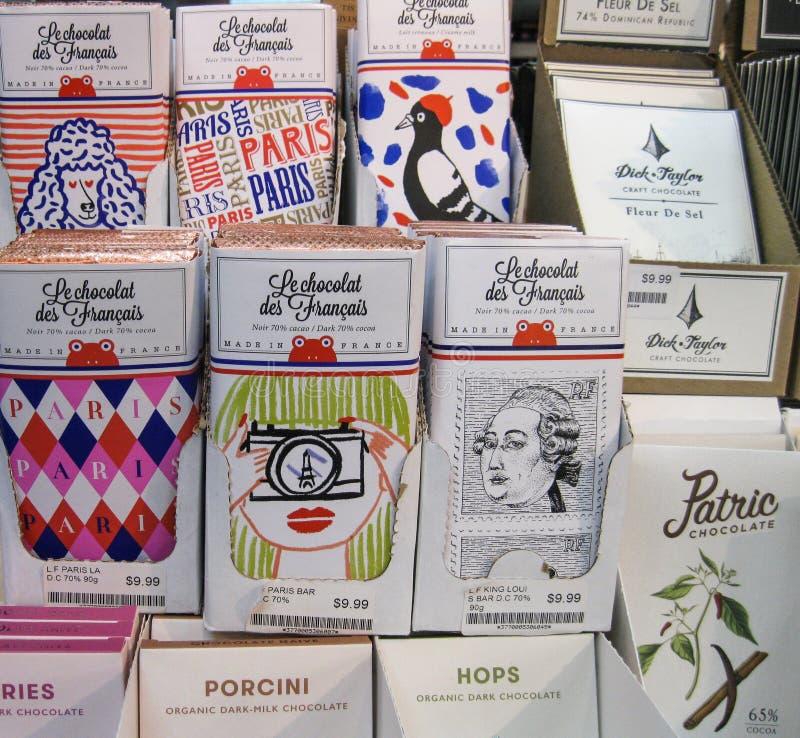 Perfezioni i presente per il cioccolatomane di discernimento immagine stock