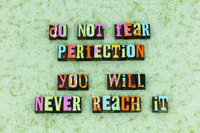 Perfezioni per raggiungere il successo di scopo di risultato fotografie stock