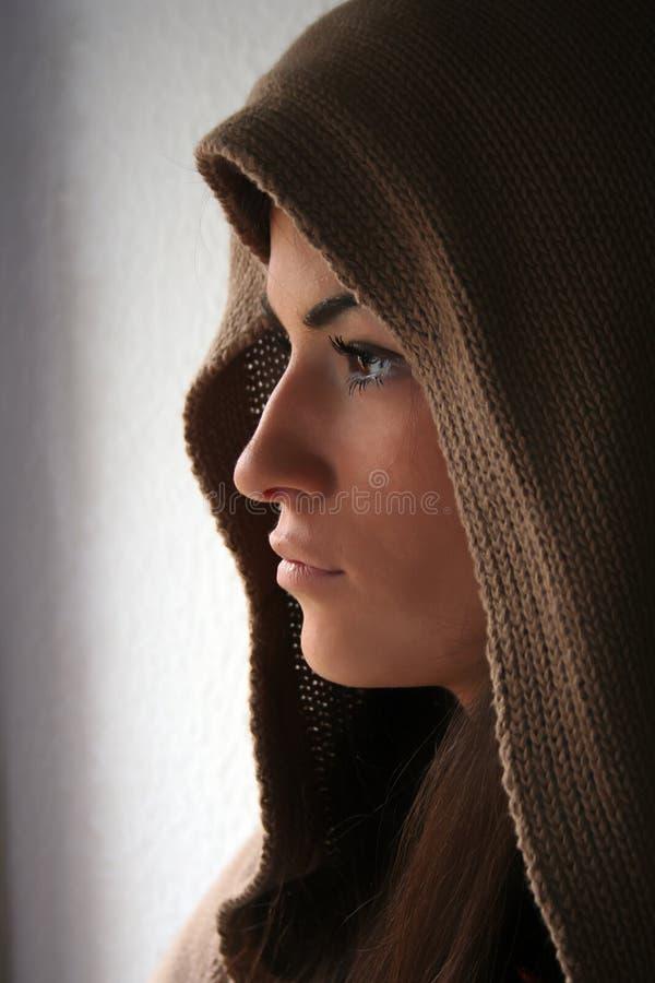 Perfil da beleza imagens de stock royalty free