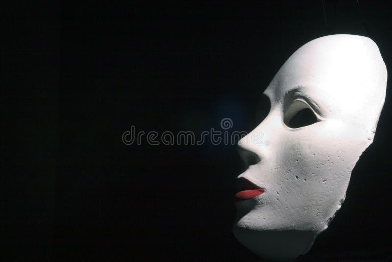 Perfil da máscara fotografia de stock royalty free