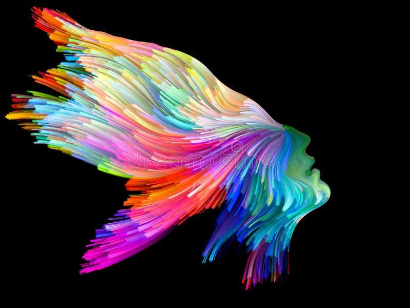 Perfil del color imagen de archivo libre de regalías