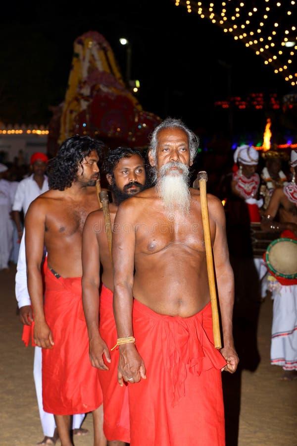 perfoming传统舞蹈的斯里兰卡 库存图片