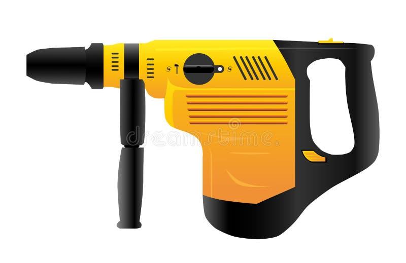 Perforador ilustración del vector