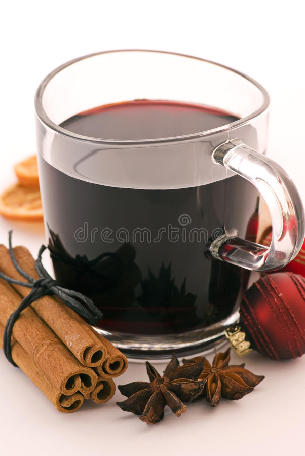 Perforateur chaud de vin photo stock