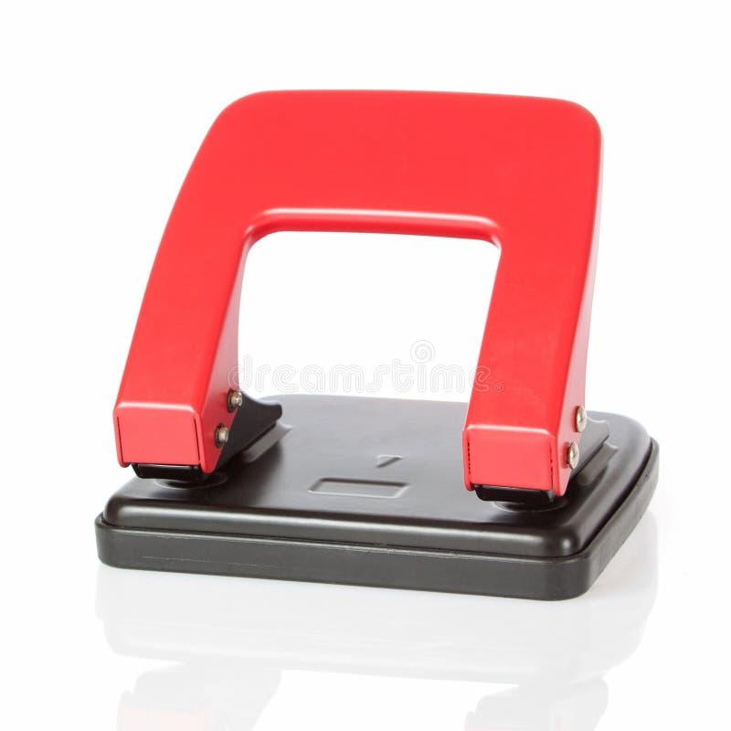 Perforateur de bureau. image libre de droits
