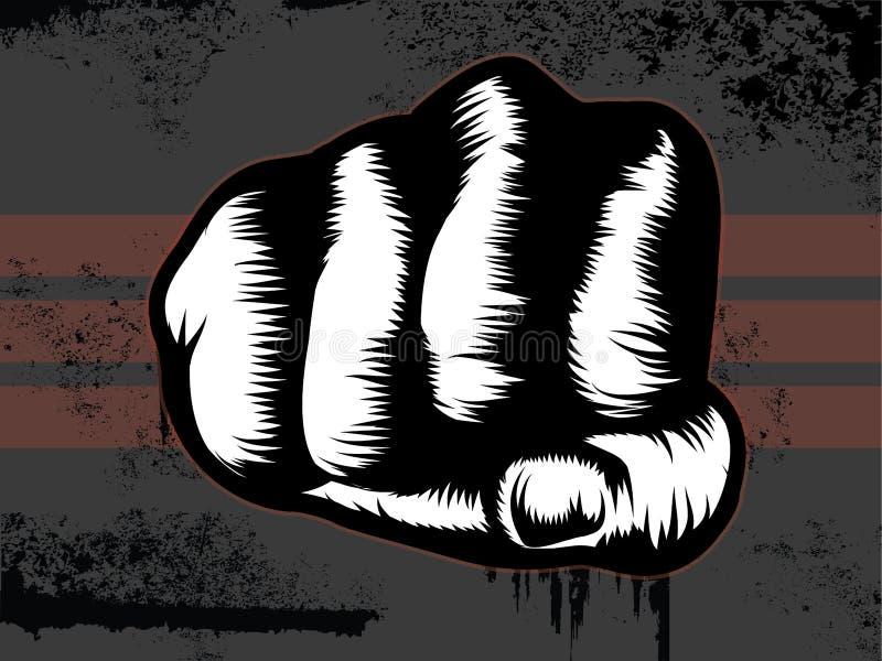 Perforateur de poing illustration libre de droits