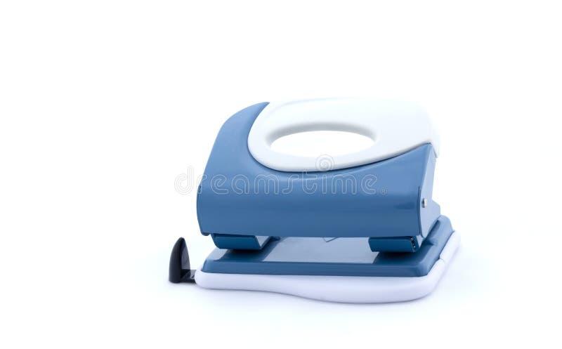 Perforateur sur le fond blanc, d'isolement image stock