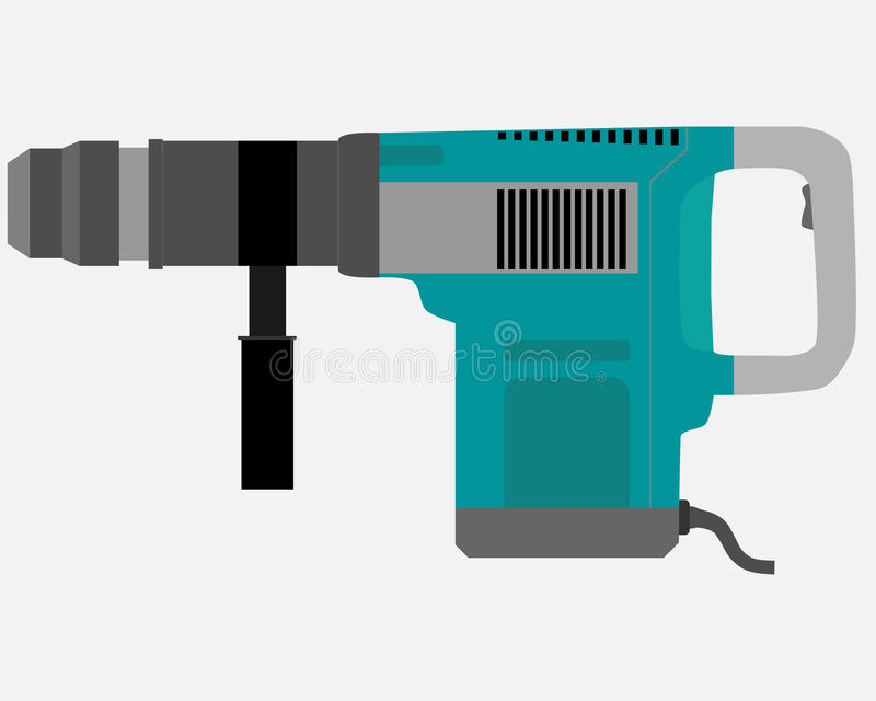 Download Perforator vector illustratie. Illustratie bestaande uit pictogram - 54079425