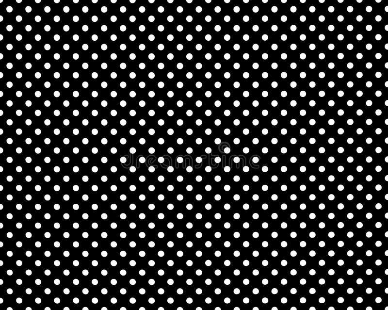 Perforierte Löcher Nahtloses Metallgitter Drahtzaun lokalisiert auf schwarzem Hintergrund Punkt, Lautsprecher, industrieller Hint stock abbildung