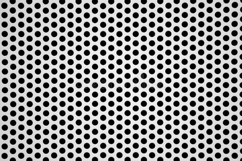 Perforierter Aluminiumblathintergrund stockbilder