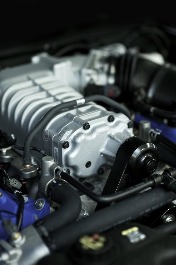 Performance Engine stock image