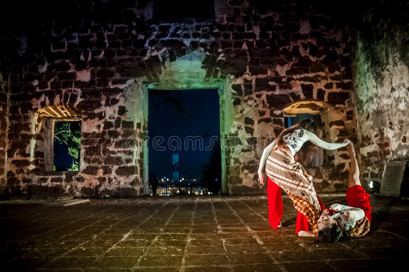 Download Performance In The Ruin Stock Photo - Image: 47863710