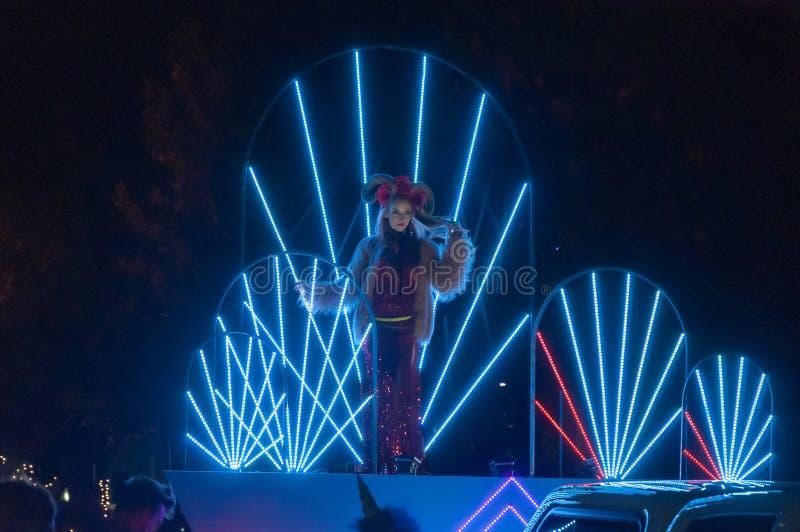 Performer - Adelaide Fringe 2017 royalty free stock image