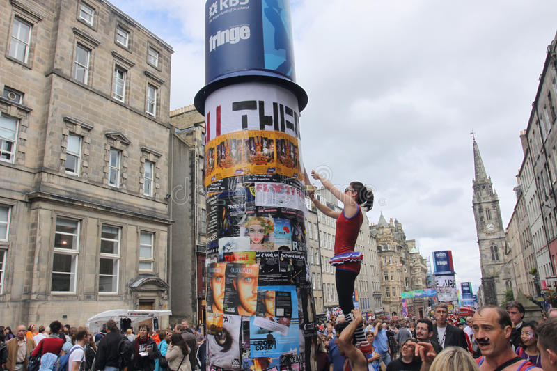 Download Performers At Edinburgh Festival Editorial Photography - Image: 15483532