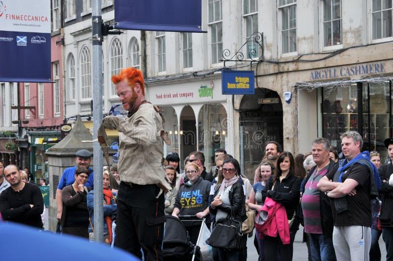 Download Performers at Edinburgh editorial stock photo. Image of international - 30290103