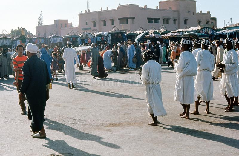 Download 1974. Morocco. Performers, Marrakesh. Editorial Stock Photo - Image: 28975238
