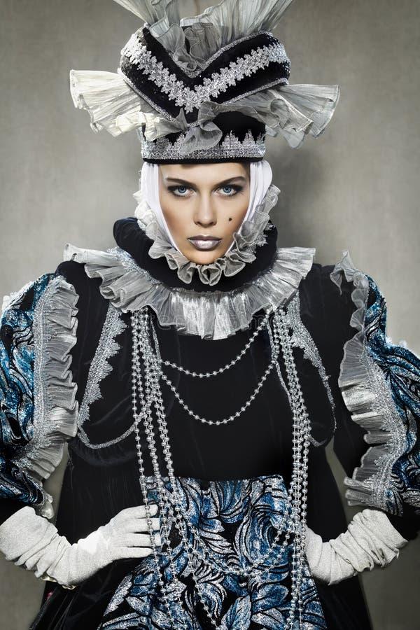 Download Performers In  Venetian  Costume Stock Photo - Image: 23995958